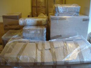 Мебель упакованная для переезда